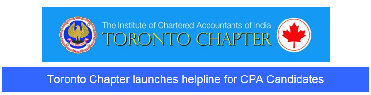 Toronto Chapter launches helpline for CPA Candidates