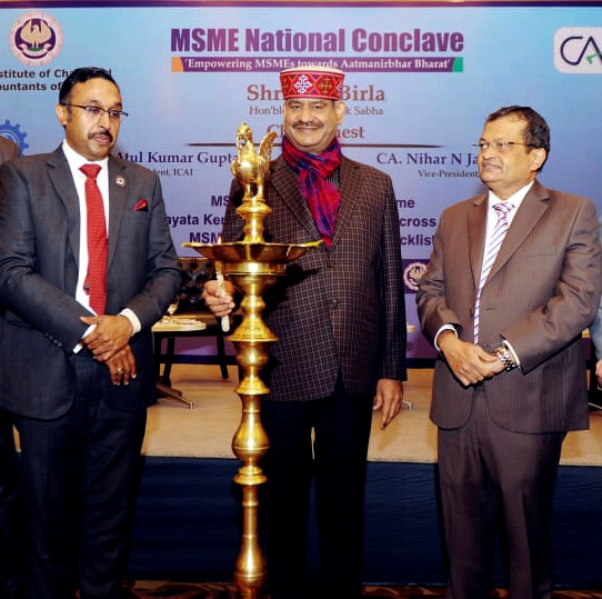 ICAI Launches MSME Mentorship Programme & 100 Facilitation Centre for MSME/GST 3